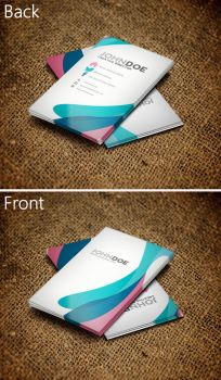 Colorful Business Card 3 by SMHYLMZ