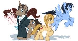 Ponyfied OCs by Adlynh