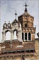 Towers and crosses by siskin