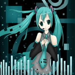 Disappearance of Hatsune Miku by alexiakhodanian