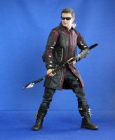 Hot Toys Avengers Age of Ultron Hawkeye 2 by maulsballs