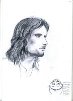 Aragorn Son of Arathorn by BlazeTheConqueror