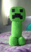 Amigurumi Minecraft Creeper 2 by FuzzyViper