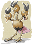 085 Dodrio by EnigmaBerry