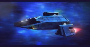 Star Wars Firespray 22 Patrol Craft by AdamKop