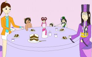 Xiaoqiao Hosts a Tea Party by The-Violet-Knight