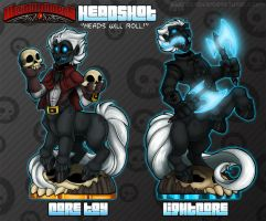 Skylanders : Headshot Toy Concepts by WeirdHyenas