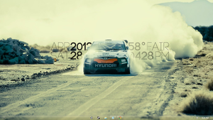 Richard Burns Rally inspired desktop by the5souls
