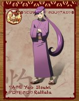 Yao - Rattata Gijinka / Update by Paper-Rabbit