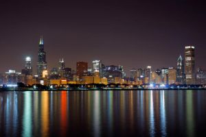 Chicago lights by Jessica-Joy
