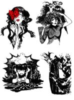 linocuts projects by Razuri-chan