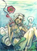 ACEO 6 - Who stole the Summer by HylianDragonCatty