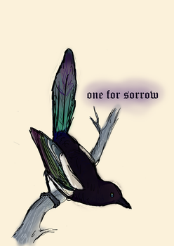 One For Sorrow by thehatterschild