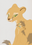 Sky-lily lions style concept art by Hawkfire11111