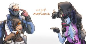 Overwatch by honeyOdew