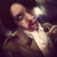 Zombie Levi/Rivaille [Cosplay] by JuubeiChan