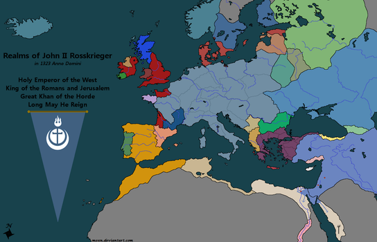 Holy Mongol Empire by moxn