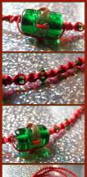 Classic Xmas Colors Choker by Jenna-Rose