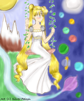 :redmade: Usagi +swing+ by SailorSilverFalcon03