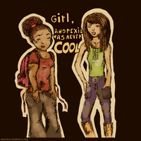 Girl, anorexia was never COOL by BeautifulFlowertje