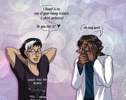 Terrible Science Puns by ErinPtah