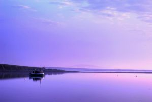 Calm Seascape by imadeyoucookies