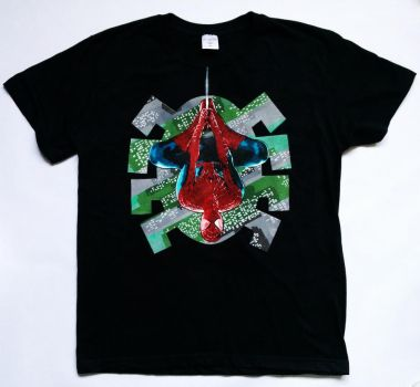 City Spider t-shirt stencil by prometteu