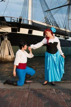 The Little Mermaid : Kiss for the Princess. by Titanicfreek