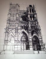 Amiens Cathedral by leArchitecte