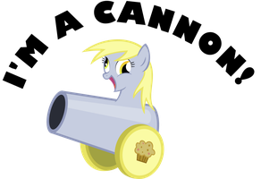 Derpy Cannon by KalleFlaxx
