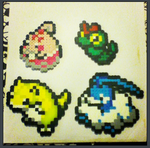 Pokemon Perler Sprites2 by chkimbrough