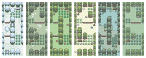 Game Biomes by Kyle-Dove