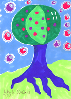 Berry Berry Bubble Tree by AngelAndz