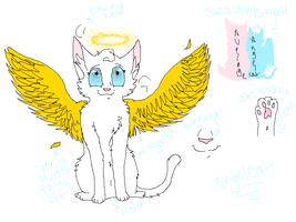 Angelcat Ref by Potato-Kitten