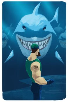Canucks vs Sharks 2013 by Toyebot