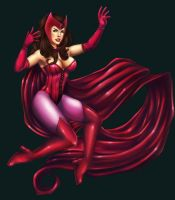 Scarlet Witch Colours by AnimantX