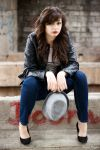 Girl with a hat by themagilla