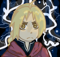 Edward Elric by WhenAshesFall7