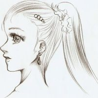 Side View Face by Nyra992