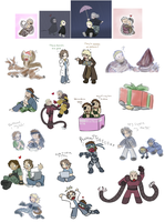 Corral these chibis posthaste by zarla