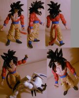 DragonballGT SSIV Goku custom by pgv