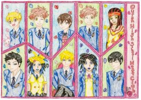 Ouran High School Host Club by IsisConstantine