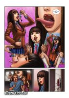 GoGo Eats Many Shrunken People by giantess-fan-comics