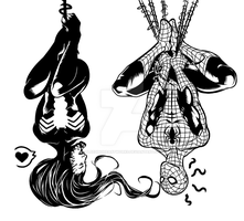 Imsy Wimsy Spider INK by BleedingHeartworks