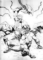 Ares v. Hercules re-do by jonc20