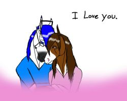 I love you. by AnnMartini
