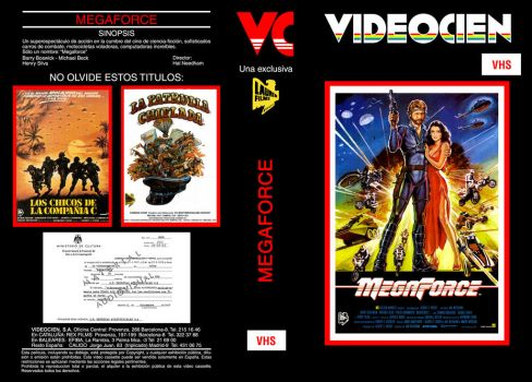 Megaforce VHS Cover by repopo