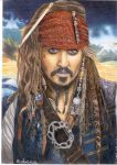 Jack Sparrow by Annaa998