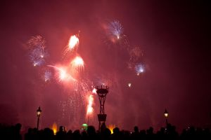 Epcot Illuminations Stock 48 by AreteStock