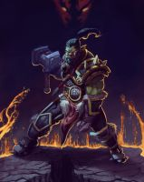 Thrall-facebook by androsm